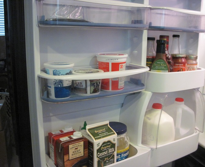 What A Difference A Clean Fridge Makes